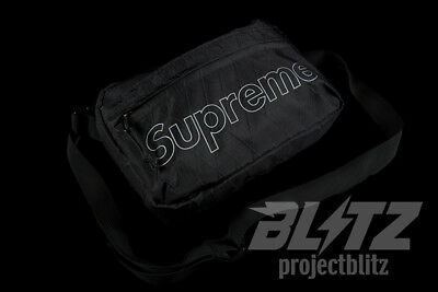 $ CDN145.13 • Buy Supreme Shoulder Bag Black Fw18 2018 White Red Purple Yellow