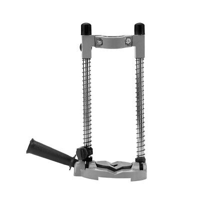 Drill Guide Stand Electric Drill Holder Adjustable 45°Angle Positioning Bracket • 11.59£