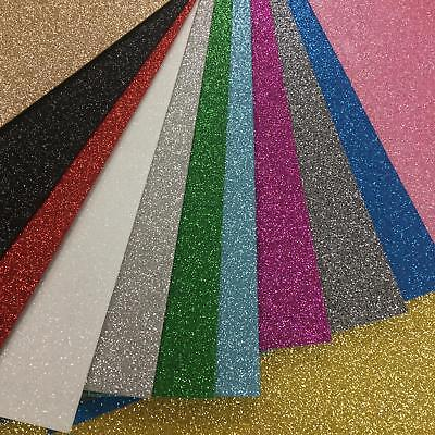 GLITTER FELT - Sparkly Craft Felt, Bow Making, Gifts, Decorations, Costumes • 1.75£