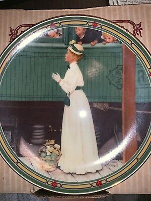 $ CDN21.34 • Buy   A Mother's Welcome  A Norman Rockwell Collector's Plate