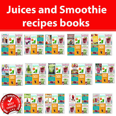 £22.99 • Buy Juice And Smoothie Recipe Books Set Lose Weight Healthy Diet Nutribullet Green