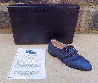 JUST THE RIGHT SHOE - George Washington Dress Shoe • 4.99£