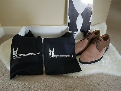Men's Moreschi For Russell & Bromley Brown Lace Up Shoes Size UK 7.5 • 135£