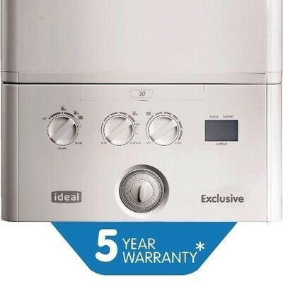 Ideal Exclusive 2 30kw Combi Boiler With 5 Years Warranty • 680.20£