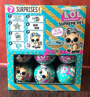 $ CDN31.18 • Buy LOL Surprise Limited Edition SUPREME Pet Lucky Lux Authentic LOL Ball MGA