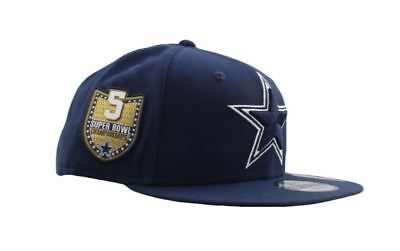 1b354945d56 Dallas Cowboys Hat NFL Men's New Era Golden Hit Snapback 9FIFTY Navy  Adjustable • 20.00$