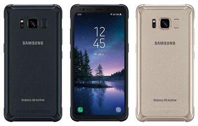 $ CDN147.91 • Buy Samsung Galaxy S8 Active G892A AT&T OR Unlocked GSM Android Cellphone GRAY GOLD
