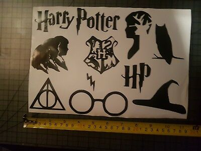 £2.99 • Buy Harry Potter Inspired Sticker Sheet Funny Decal Vinyl Glitter Diy Your Text