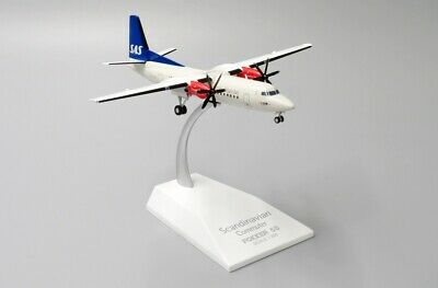AU95.72 • Buy Jc Wings Jc2052 1/200 Scandinavian Airlines Fokker 50 Ln-rnc With Stand