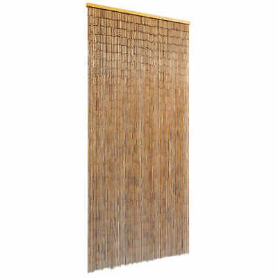 $46.99 • Buy VidaXL Door Curtain Bamboo Fly Insect Mosquito Screen Room Divider Partition