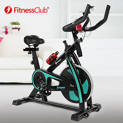 Green Exercise Bike Home Gym Bicycle Cycling Cardio Fitness Training Indoor • 159.99£