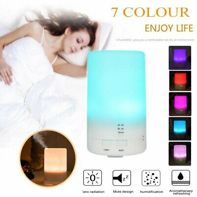 AU23.99 • Buy USB Electric Air Diffuser Aroma Therapy Oil Humidifier 7 Color Bedroom Defuser