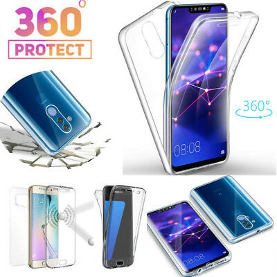 AU3.99 • Buy Shockproof 360° Protect Clear Full Body Rubber Back Skin Phone Case Screen Cover