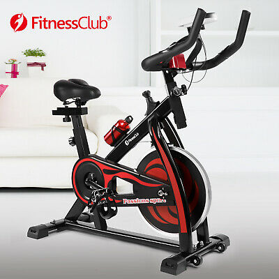 Red Exercise Bike Home Gym Bicycle Cycling Cardio Fitness Training Indoor • 158.99£