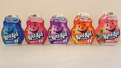 KOOL-AID Liquid Drink Mix Drops FLAVOR CHOICES PICK ONE • 5.11£