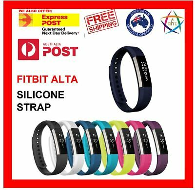 AU7 • Buy Fitbit Alta HR Replacement Band Secure Strap Wristband Button Bracelet Fitness