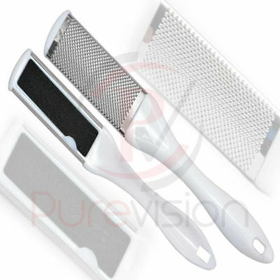 £2.99 • Buy Double Sided Foot File Pumice Stone Pedicure Rasp Callus Remover Skin Smoother