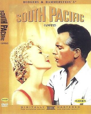 $4.65 • Buy South Pacific (1958) Rossano Brazzi / Mitzi Gaynor DVD NEW *FAST SHIPPING*