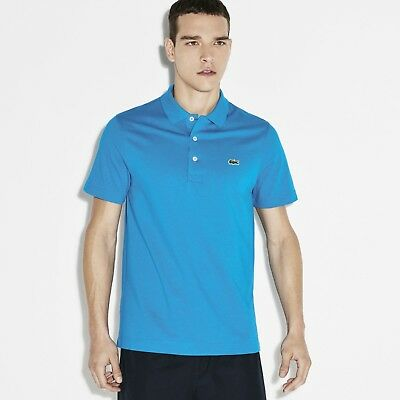 Lacoste L1230 Classic Regular Fit Polo T-shirt - Size Medium T4 - Barbados Blue. • 24.99£