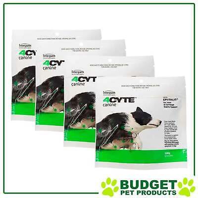 AU250.55 • Buy 4CYTE Canine Joint Support For Dogs 4 X 100gm