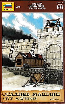 Russian Toy Soldiers. Zvezda. 8015. Siege Machines. Kit #2. 1/72 Scale. • 9.40£