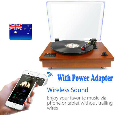 AU139.99 • Buy 1byone Wireless Turntable 33/45/78 Rpm Built-in Speaker Vintage Record Player