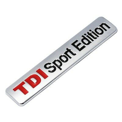 Sport Edition Badge - Boot Body GOLF TDI Turbo Diesel Car Wing Van UK NEW • 7.99£