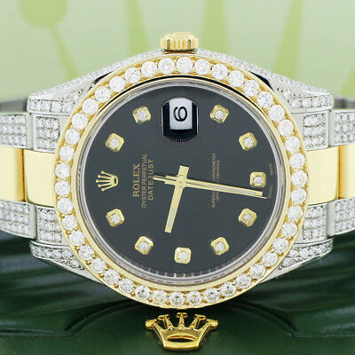 $ CDN25662.72 • Buy Rolex Datejust II YG/SS 41MM 116333 W/Diamond Bezel/Bracelet/Case Box And Papers