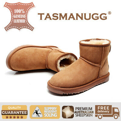 AU69 • Buy TASMAN UGG-Mini Ankle Boots,Premium Sheepskin, Water-resistant, Chestnut Cl