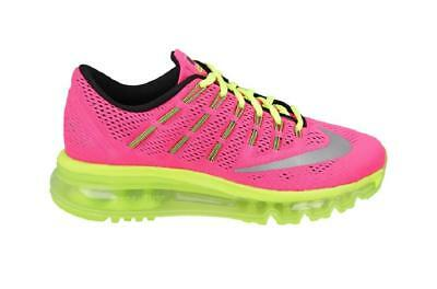 3746368dc Júnior Niña Nike Air Max 2016 Gs Rosa Zapatillas Running 807237 600 •  106.21€