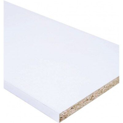 £8.70 • Buy White Melamine Faced Chipboard MFC Shelving Boards 15mm ( COLLECTION ONLY )