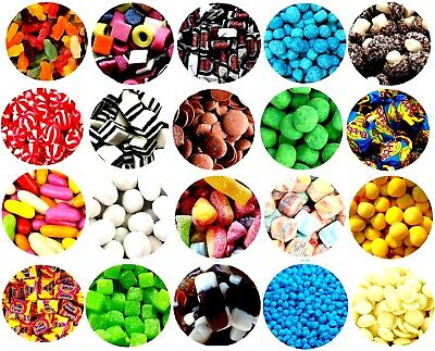 £8.99 • Buy Pick N Mix RETRO SWEETS OVER 100 CHOICES 600g 1KG By Happy Candy® Christmas Gift