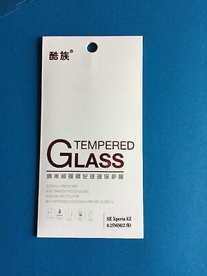 AU6.99 • Buy Premium Quality Ultra Clear Tempered Glass Screen Protector For Sony Xperia XZ