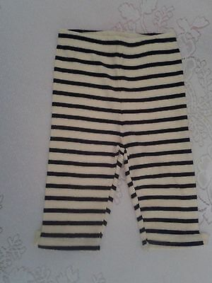 $11.99 • Buy Nwt Gymboree Bee Chic Yellow Black Striped Bow  Leggings Size 6-12 Months