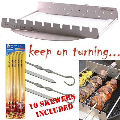 $ CDN288.28 • Buy Motor Operated Rotating Add On Skewer Kit For Weber 26  Charcoal BBQ Grill