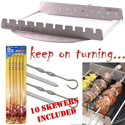 $ CDN286.98 • Buy Rotisserie Add On Kit For Weber 26  Kettle BBQ Grill Automatic Rotating Skewers