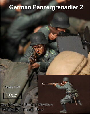 1/35 Scale Resin Figure Kit WW2 German Panzergrenadier 2 • 11.99£