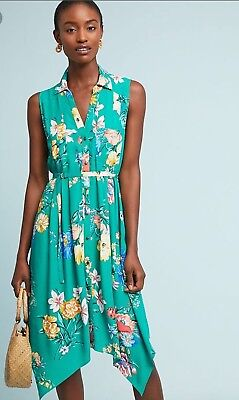 2fd411f4753 NWT Anthropologie  138 Maeve Rory Shirtdress Size 10 12-Fast Shipping •  64.00