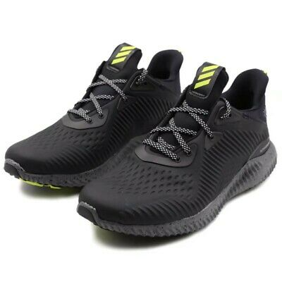 652bc53dd Mens Adidas Alphabounce All Terrain Black Running Athletic Shoes BW1223  10.5-13 • 65.99