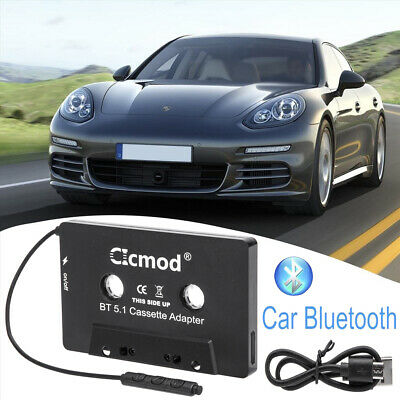 £12.99 • Buy Bluetooth CAR AUDIO TAPE CASSETTE ADAPTER RECEIVER FOR IPHONE IPOD CD MP3 RADIO