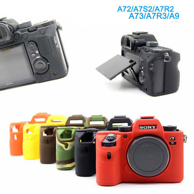 $ CDN12.27 • Buy Soft Silicone Camera Bag Case Skin Cover For SONY A9 A7R3 A7III A72 A7S2 A7R2