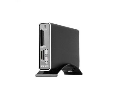 RaidSonic Icy Box IB-360UHR-B-BL Black, 3.5  , USB-B 2.0 • 24.99£