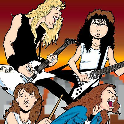 Metallica By Anthony Parisi, Limited Edition Print • 387.84£