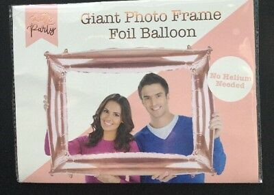 GIANT INFLATABLE PHOTO FRAME- Booth / Party Props - Blow Up Frame - 73 X 87 Cm • 3.38£