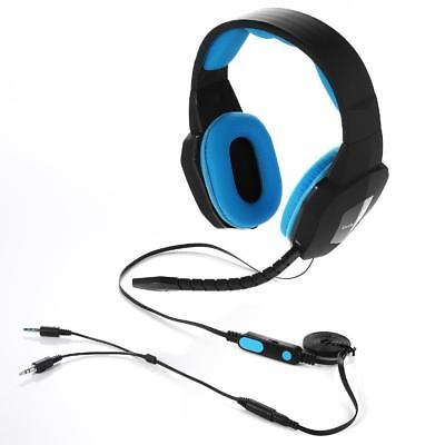 AU11 • Buy For PC Wired Gaming Headset For PS4 Xbox One PC MAC Ipad Tablet Phone 3.5mm