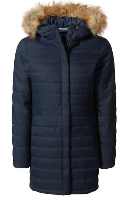 Craghoppers Women's Dores Jacket, Soft Navy. RRP £140 • 45£