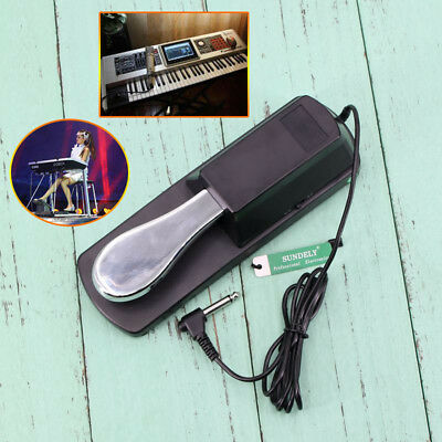 AU31.40 • Buy Best Sustain Foot Pedal Keyboard Digital Piano Damper For Yamaha Roland Korg AU