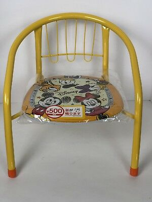 £18.19 • Buy Mickey's Friends Minnie Mouse Pipe Back Chair Disney Daiso Padded Seat