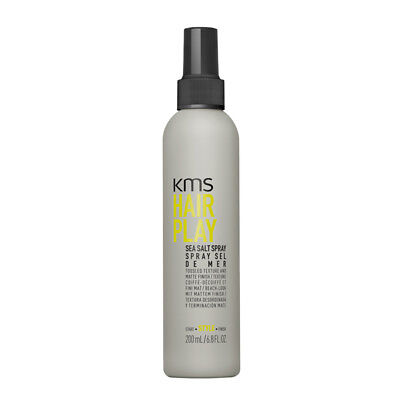 AU26.36 • Buy KMS Hair Play Sea Salt Spray 200ml