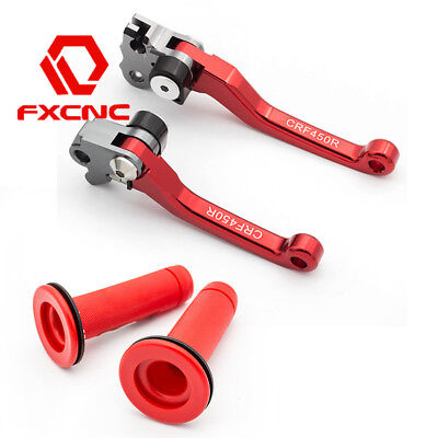 $27.26 • Buy CNC Brake Clutch Levers Handle Grip For  CRF450R 2007-2018 CRF450X 05-2017